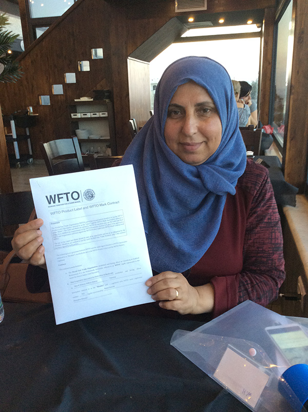 August 2018: Women in Hebron is now Fair Trade Accredited!